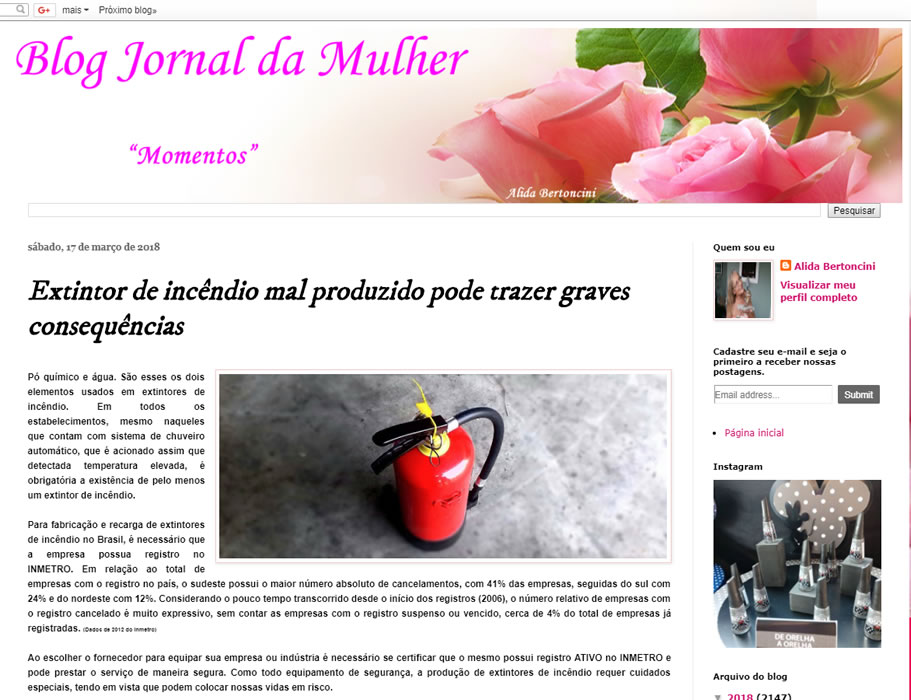 Thermomatic no Jornal da Mulher